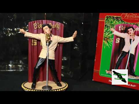 Elvis Presley the King of Rock and Roll Ornament All Shook Up