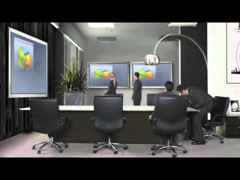 smart future meeting room