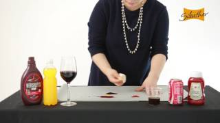 Sileather™ | Stain Resistance Test - Liquids