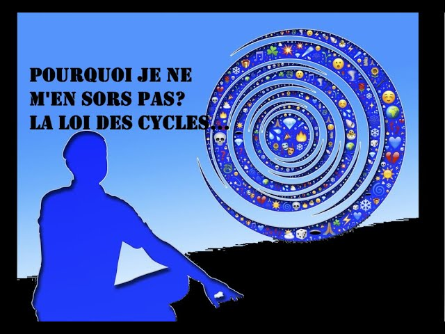 Sortir du cycle infernal de la souffrance; la loi des cycles