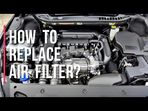 How to replace air filter for peugeot RCZ,508,5008,408,308,3008 turbo engine ( complete guide )