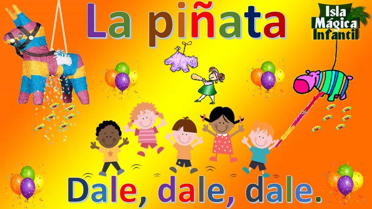 Cantos Para Romper La Pinata Mexican Children S Songs Mexico