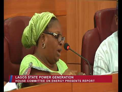 Lagos Parliament | House Committee on Energy presents reports