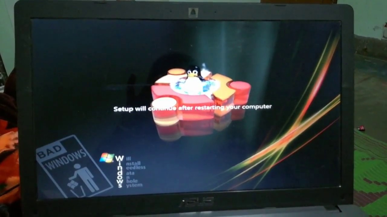 How to install windows 7 linux edition 2014 team os