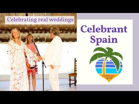 Real wedding of Steve and Steffi, Cortijo Las Salinas, Spain