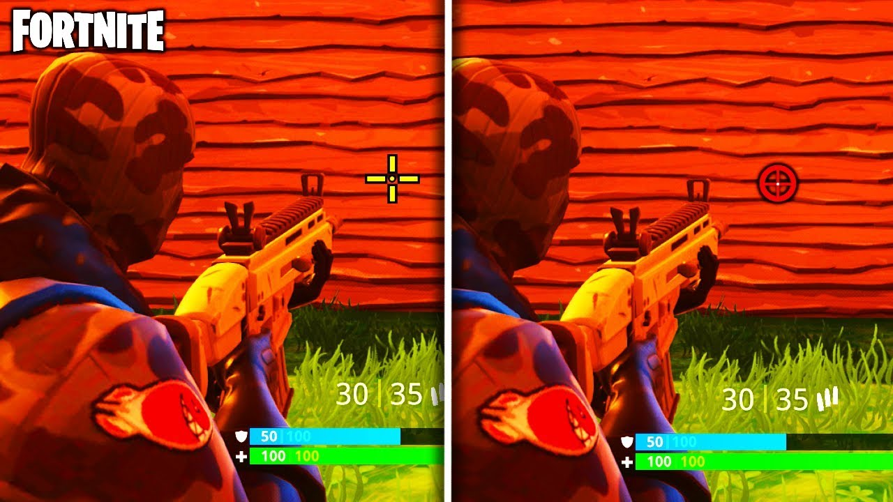 Cuisine Royale Brightness Change Your Crosshair Better Aim How To Change Your Crosshair Fortnite Battle Royale