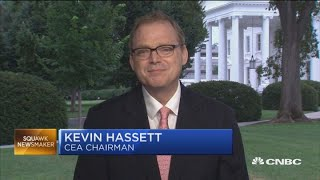 We're close to a US-Mexico deal, says White House advisor Kevin Hassett