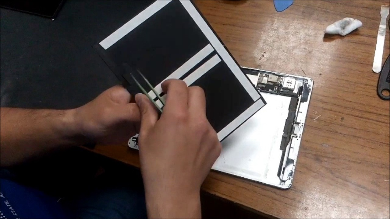 ipad air замена аккумулятора видео