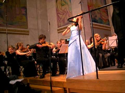 Guro Kleven Hagen - part of 1. movement - Violin Concerto op 33 by Carl Nielsen