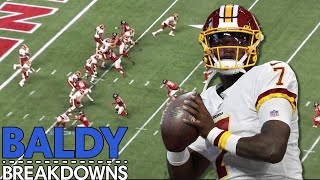 Breaking Down Dwayne Haskins' Third Preseason Game | Baldy Breakdowns