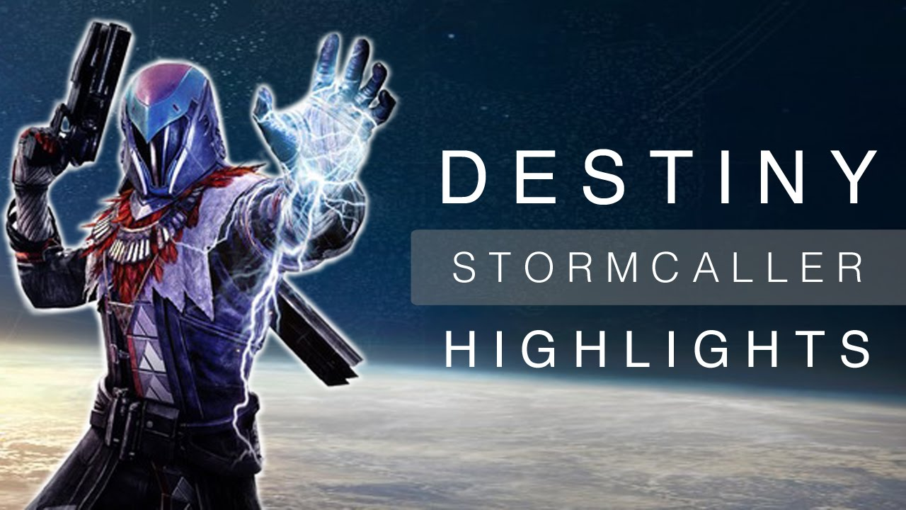 Destiny stormcaller warlock stormtrance highlights youtube - Warlock stormcaller ...