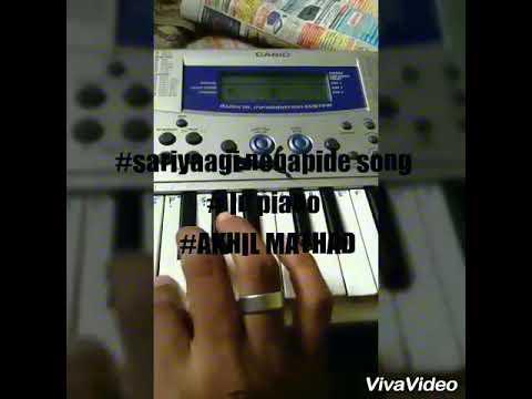 Download How to play sariyaagi nenapede song /#AKHIL MATHAD