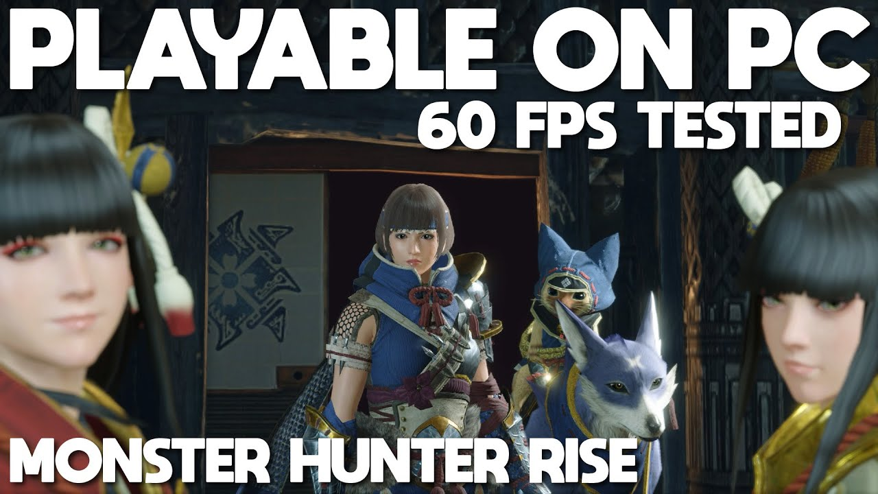 Monster Hunter Rise Playable on PC | Switch Emulation - 60 FPS at 1620p Tested