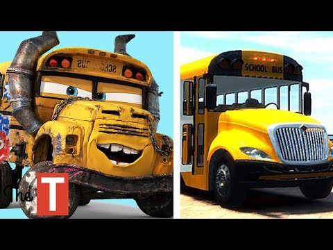10 CARS Characters In Real Life