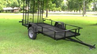 Everlast Trailer Project Build Part 7: Ramp Installation On Utililty Trailer