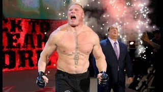 WWE Brock Lesnar coming song