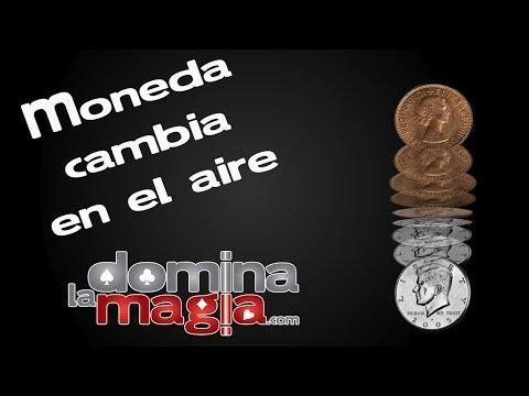 Truco magia con monedas - Cambio de moneda en el aire