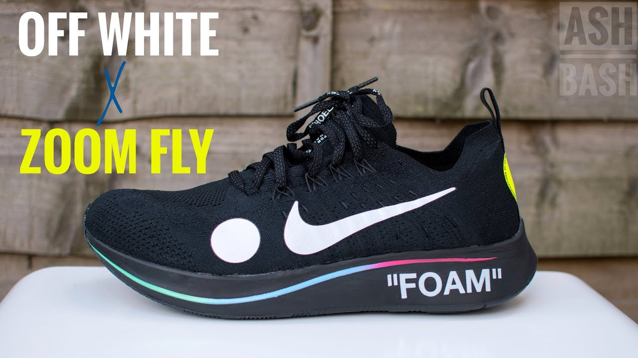 hot new products low price sale discount shop Vlog + Review + On Foot | Off White x Nike Zoom Fly Mercurial | Ash Bash