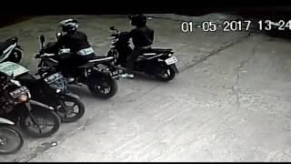 Kejadian Tak Terduga Yang Terekam CCTV