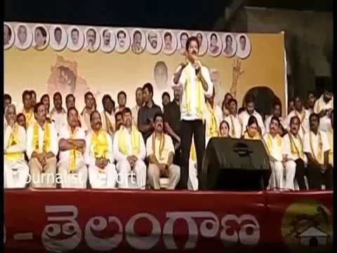 Revanth Reddy couter to TRS Govt || Revanth Reddy Kollapur Tour