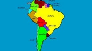 How to draw South America