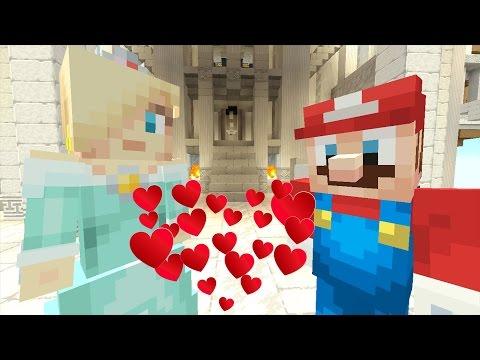 Minecraft Wii U - Super Mario Series - Mario Cheats on Peach! [112]