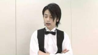 ドラマ「嬢王3」出演 篠田光亮 インタビュー。 http://www.tv-tokyo.co...