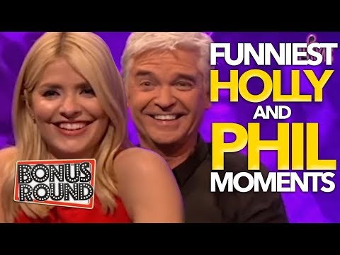 FUNNIEST Holly Willoughby And Phillip Schofield Moments on Celebrity Juice
