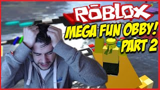 ★ROBLOX MEGA FUN OBBY!!! - LEAPING MY WAY TO VICTORY!! Level 50-100 Part (2)★