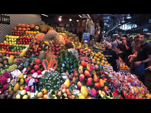 Mercado de La Boqueria, Barcelona Spain #Gallivanting | CaribbeanPot.com
