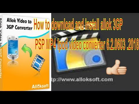 CONVERTER ALLOK TÉLÉCHARGER VIDEO IPOD LOGICIEL MP4 PSP 3GP