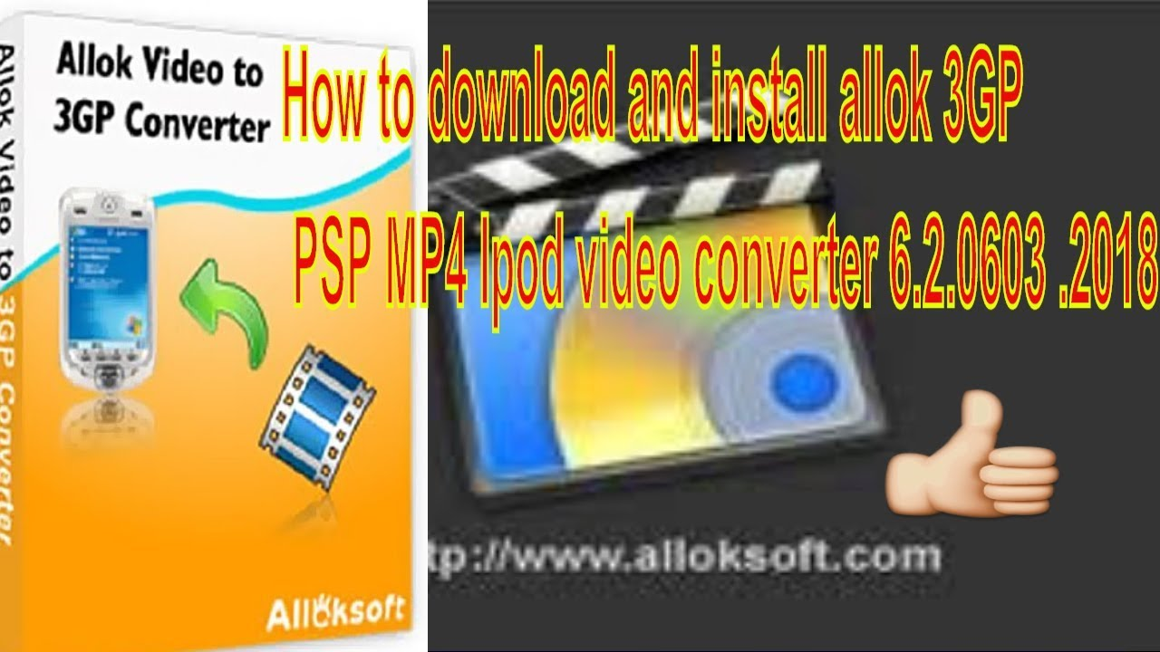 VIDEO TÉLÉCHARGER GRATUIT IPOD 3GP CONVERTER MP4 ALLOK PSP