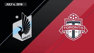 HIGHLIGHTS: Minnesota United FC vs. Toronto FC | July 4, 2018