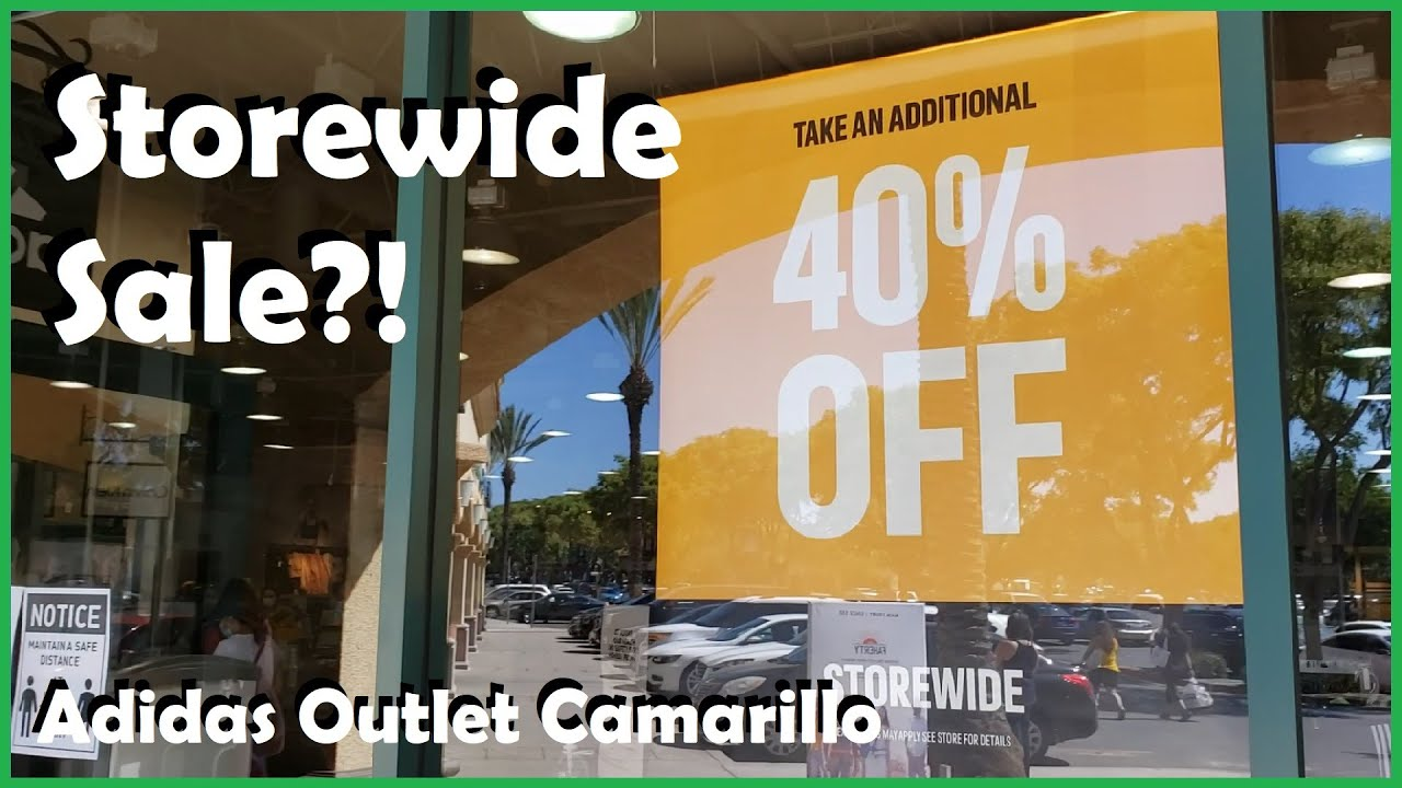 Off Storewide [Adidas Outlet Camarillo