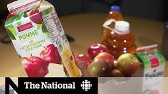 Where does your apple juice come from? | CBC Marketplace