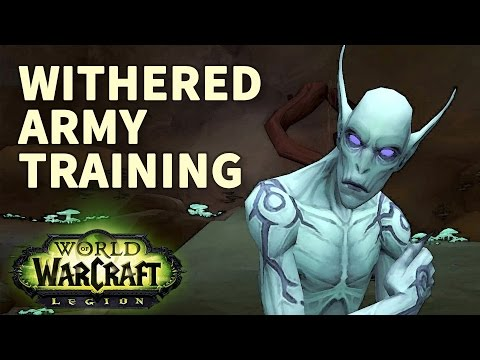 100% Withered army training with 9 Chests Opening