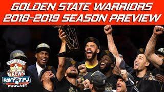 Ep. 110: Warriors Season 2018-19 Preview (feat The Schmo)   Hoops N Brews