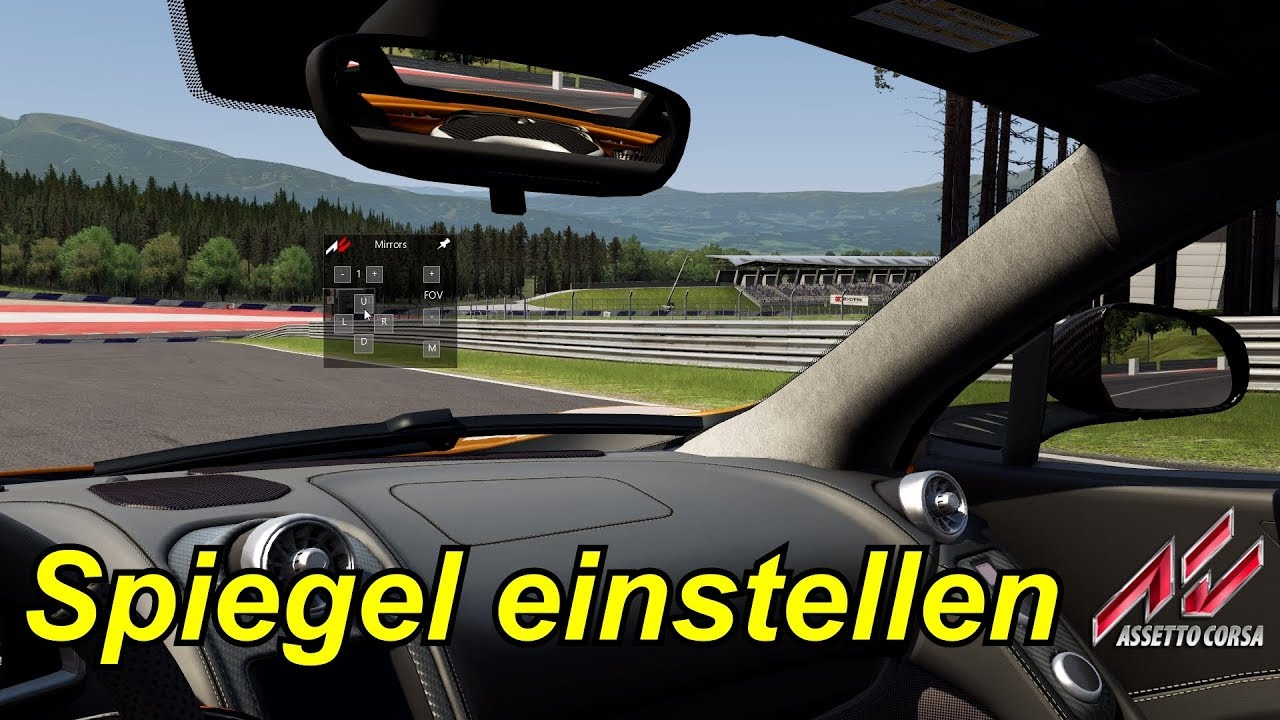 spiegel einstellen assetto corsa youtube. Black Bedroom Furniture Sets. Home Design Ideas