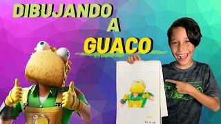 How to draw GUACO?🌮 [FORTNITE SKIN] Super EASY