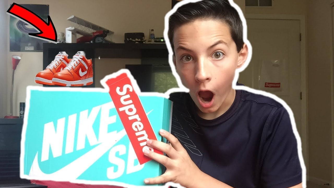 Supreme x Nike SB Air Force 2! Unboxing/Review!
