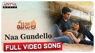 Naa Gundello Full Song MAJILI Songs Naga Chaitanya Samantha Divyansha Kaushik