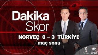 Dakika Skor Milli Maç Özel | Norveç 0 - 3 Türkiye (27 Mart 2021)