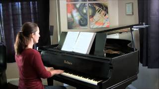 He is Born & Away in a Manger Medley ~ Piano Solo by Jennifer Eklund