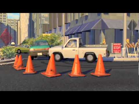 Pixar Toy Story 2 Movie Clip Road Crossing Blu Ray
