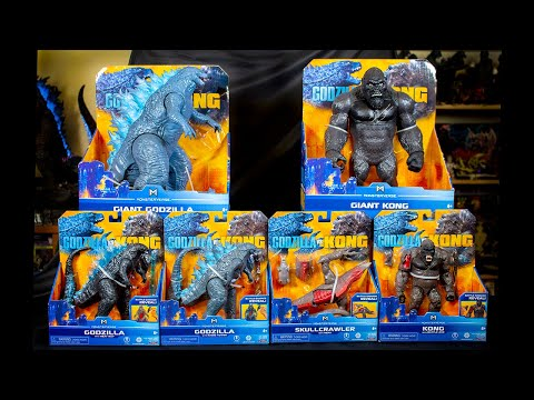 All Godzilla vs Kong Toys Reviewed!