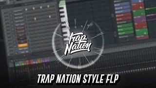 Скачать FREE FLP Trap Nation Style Flp Fabian Mazur Style Fl Studio 12