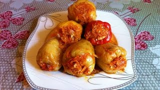 Фаршированные Перцы / Перец с Мясом и Рисом / Stuffed Peppers / Простой Рецепт