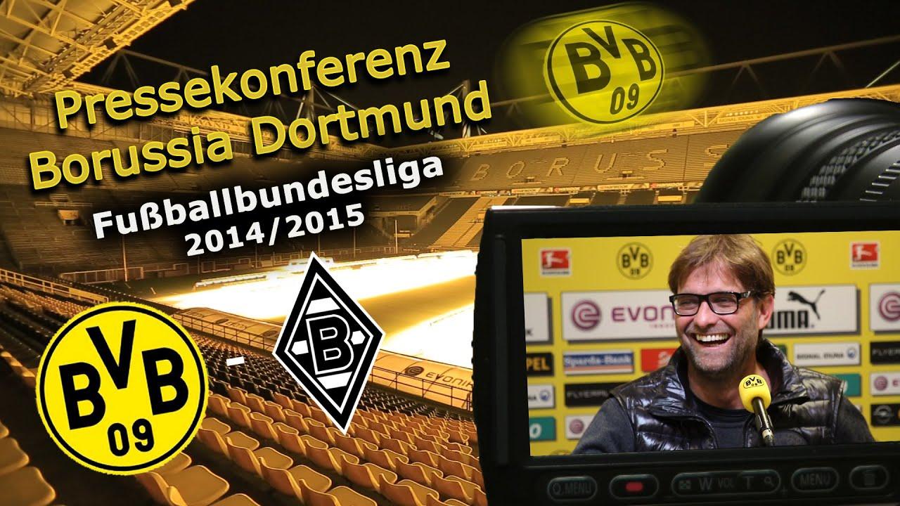 Borussia Dortmund - Borussia Mönchengladbach: BVB-Bundesliga-Pk mit Jürgen Klopp