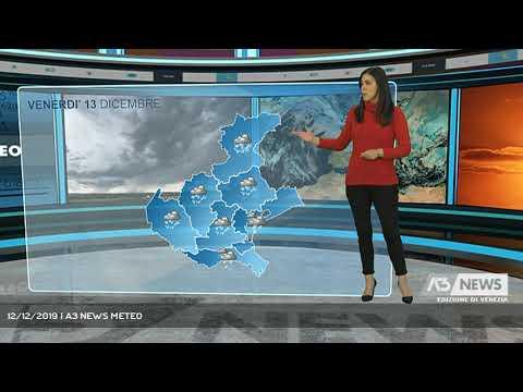 12/12/2019 | A3 NEWS METEOA3 NEWS Venezia ...