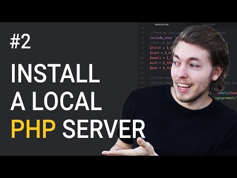 2: Installing A Local Server For PHP | PHP Tutorial | Learn PHP Programming | PHP For Beginners